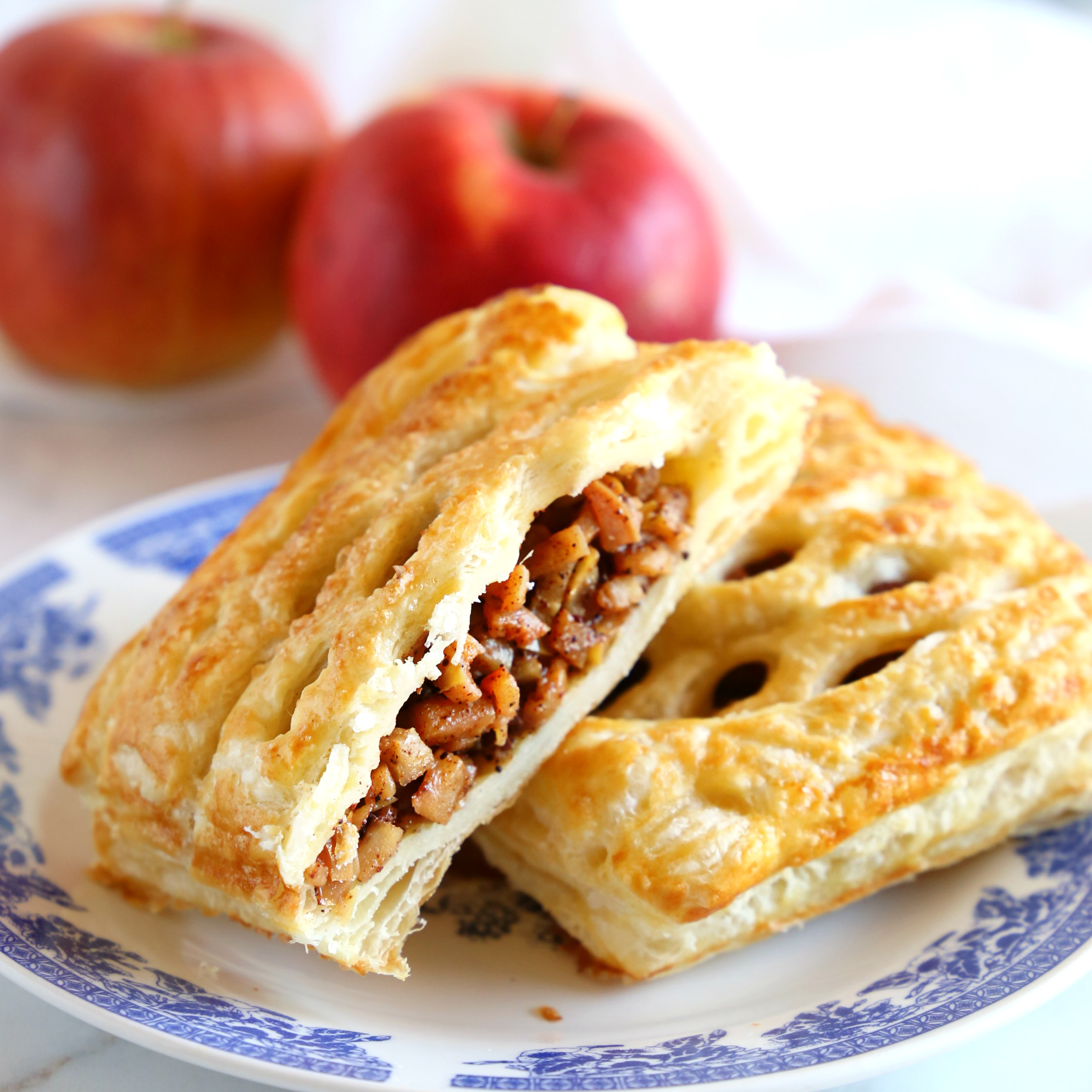 Easy Homemade Apple Strudel Easy Pastry Recipe The Busy Baker