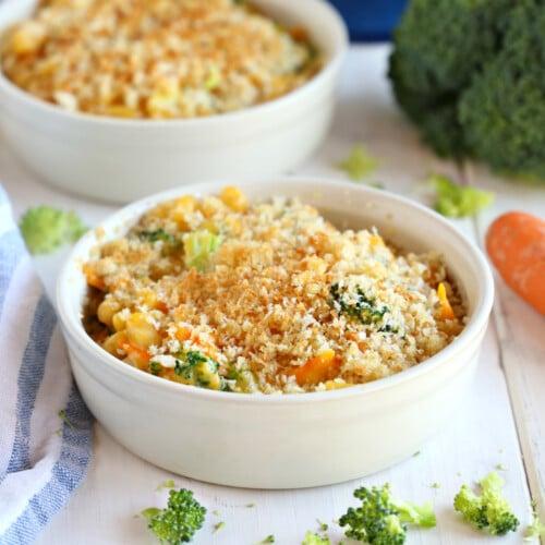 Easy 15-Minute Vegetarian Macaroni and Cheese