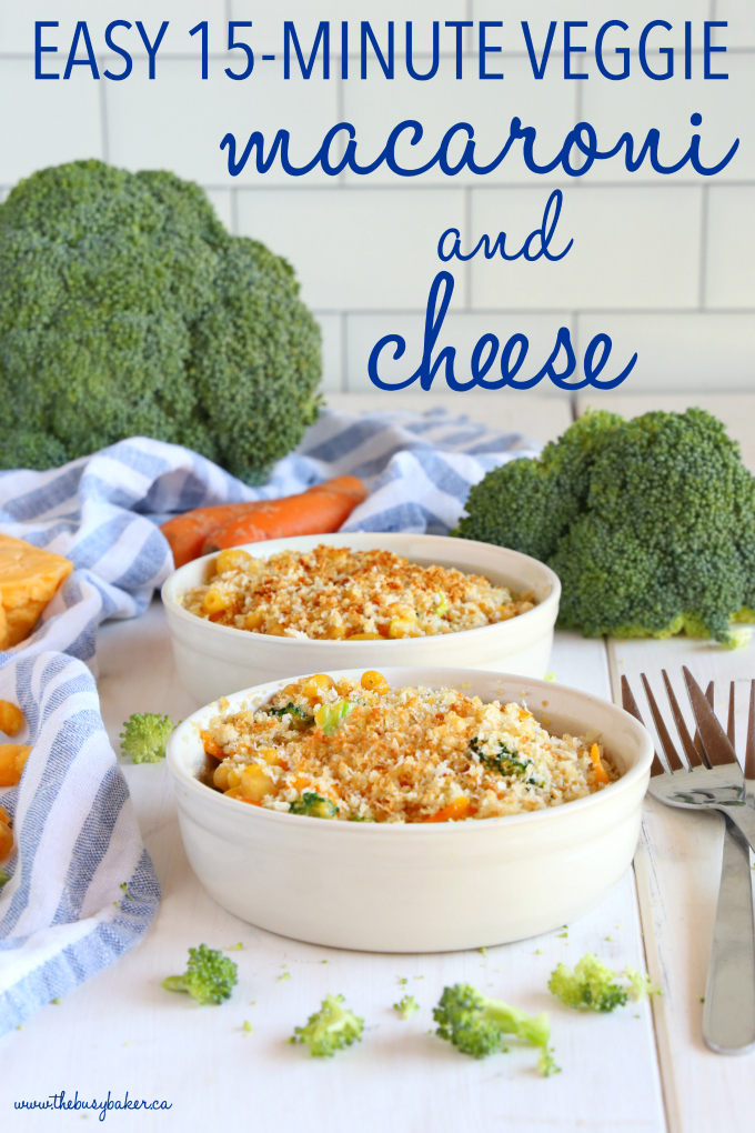 Easy 15-Minute Vegetarian Macaroni and Cheese