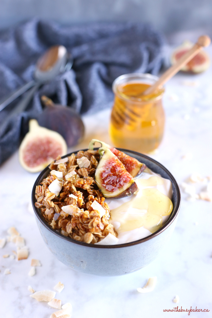 Healthy Honey and Fig Breakfast Bowls