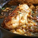 Easy One Pan French Onion Stuffed Chicken