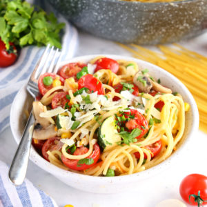 Easy One Pot Pasta Primavera