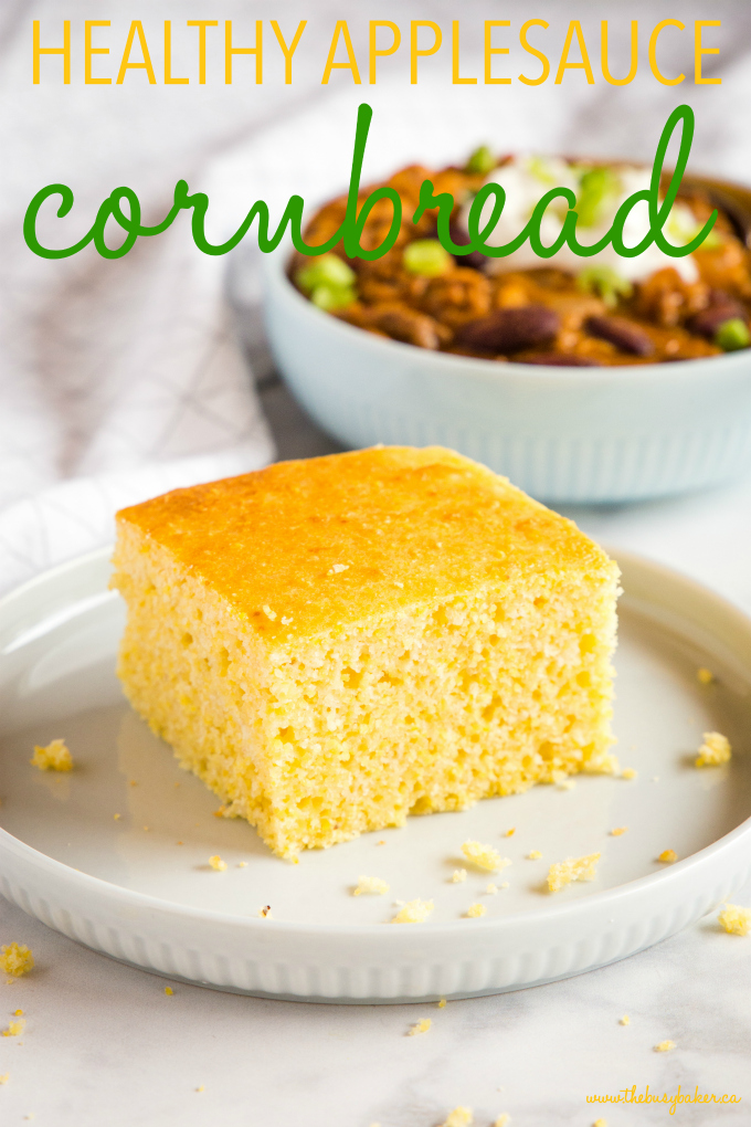 Healthier Low Fat Cornbread low fat