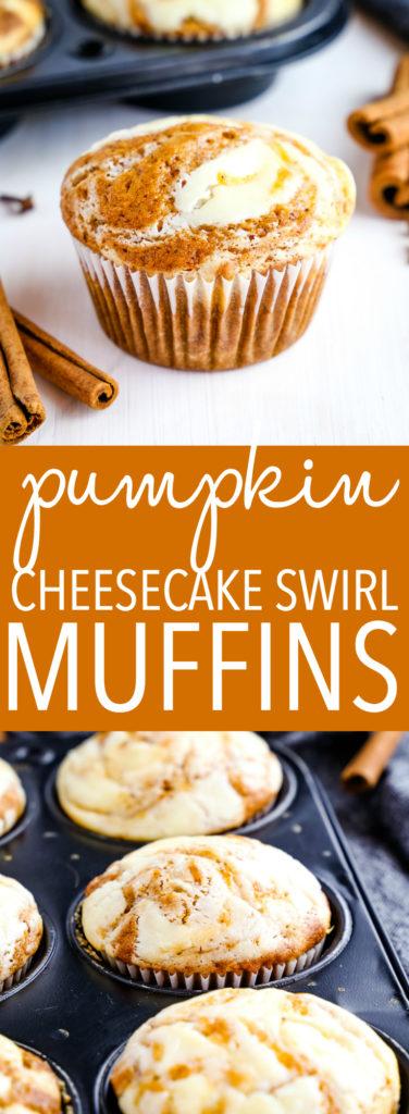 Pumpkin Cheesecake Swirl Muffins Pinterest