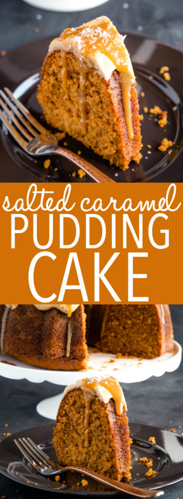 Best Ever Salted Caramel Pudding Cake Pinterest