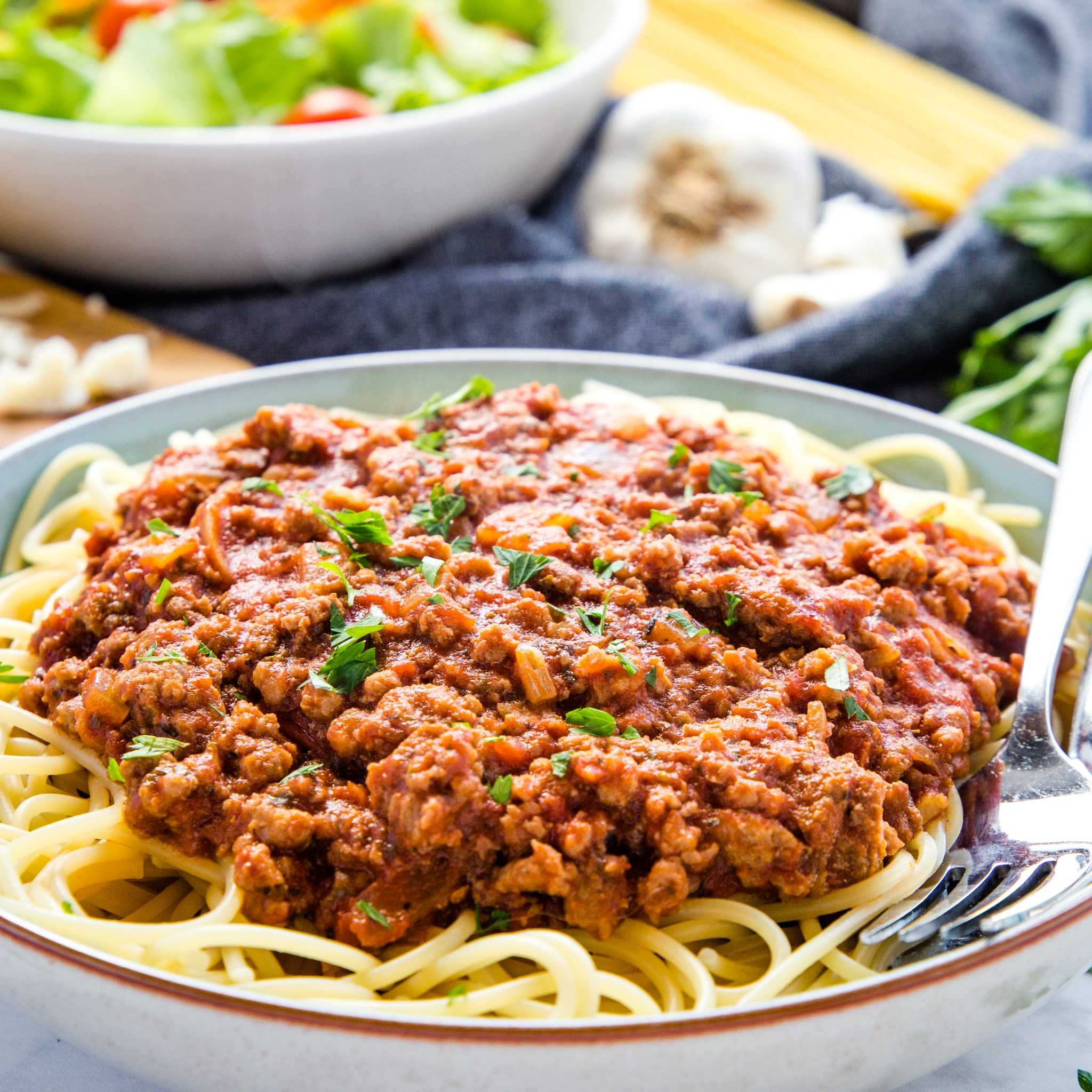 Best Ever Spaghetti and Meat Sauce (Easy Family Meal ...