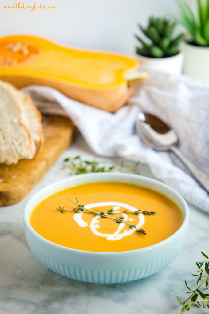 Creamy One Pot Butternut Squash Soup