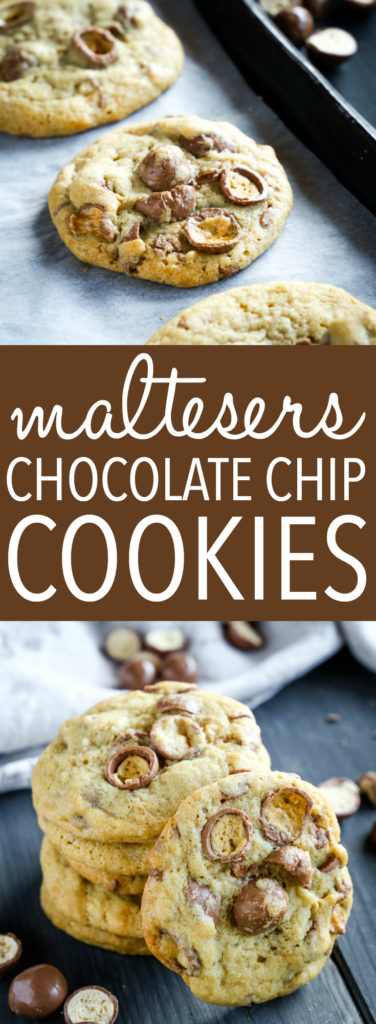 Maltesers Chocolate Chip Cookies Pinterest