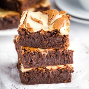 Mocha Cheesecake Brownies