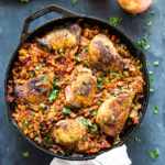 One Pan Spanish-Style Chicken and Rice
