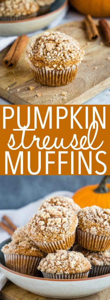 Pumpkin Spice Streusel Muffins Pinterest