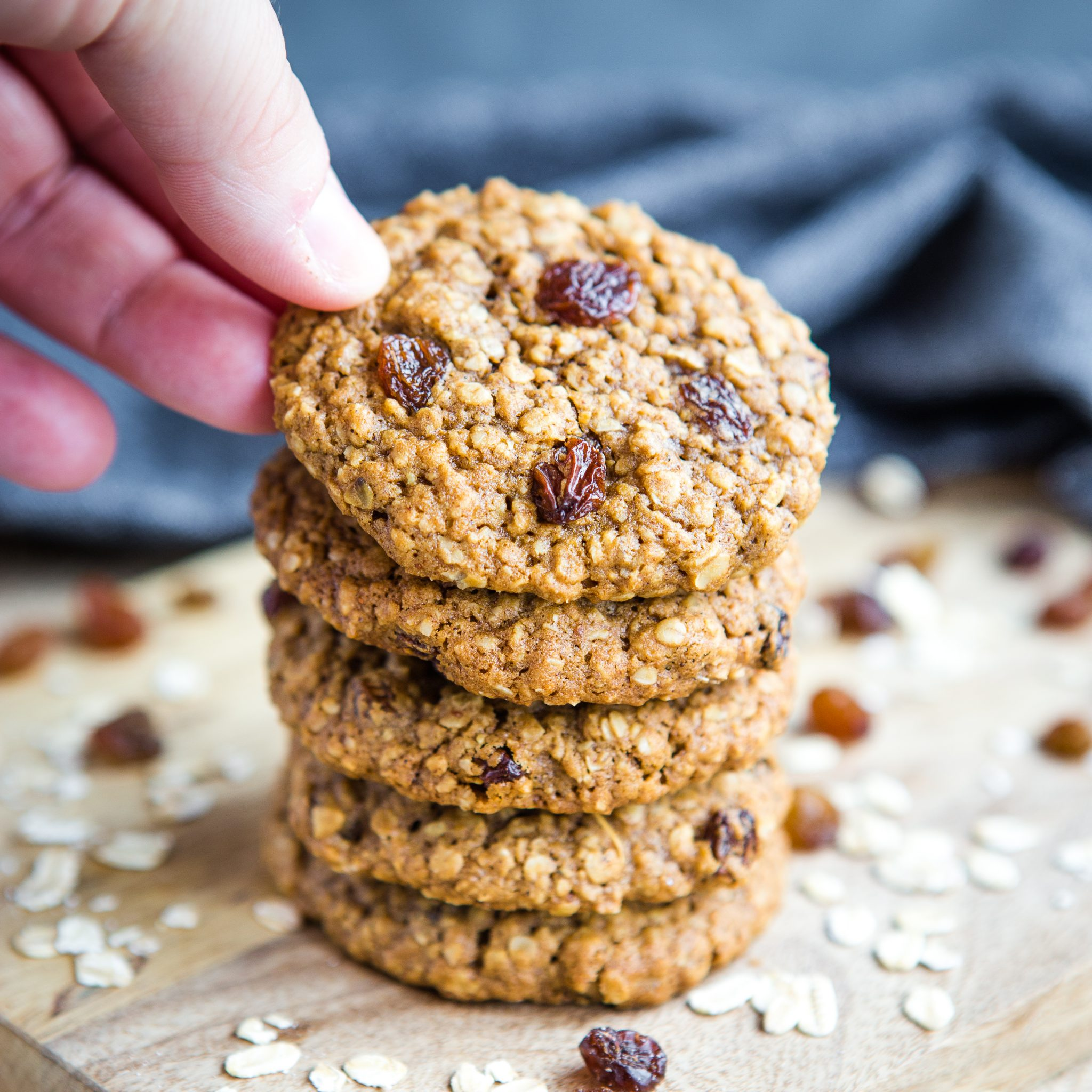 Forum on this topic: Molasses and Honey Oatmeal Cookies, molasses-and-honey-oatmeal-cookies/
