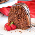 Best Ever Chocolate Pudding Cake