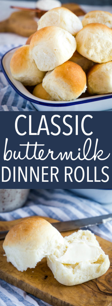 Easy Homemade Classic Buttermilk Buns