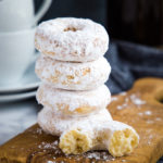 Old Fashioned Powdered Sugar Baked Donuts