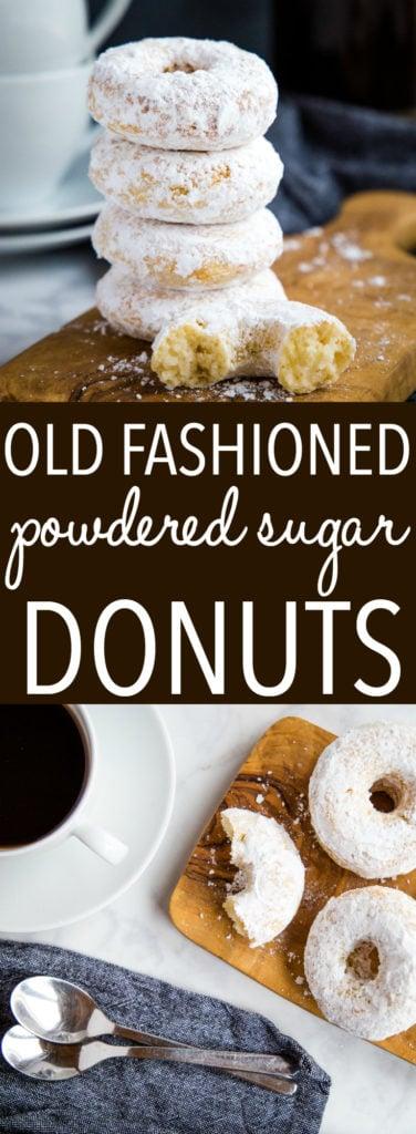 Old Fashioned Powdered Sugar Donuts Pinterest