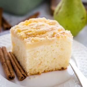 Pear Streusel Cake