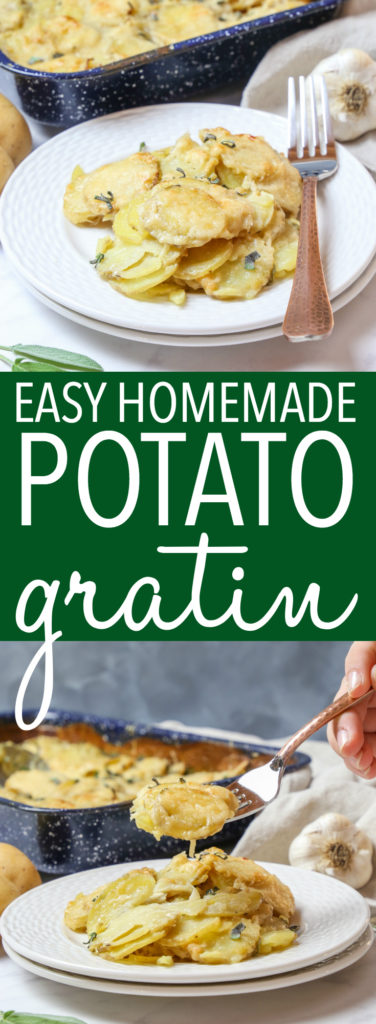 Easy Homemade Potato Gratin Pinterest