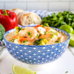 Thai Coconut Curry Shrimp Soup