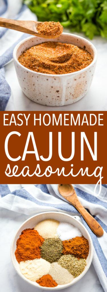 Easy Homemade Cajun Seasoning Blend Pinterest