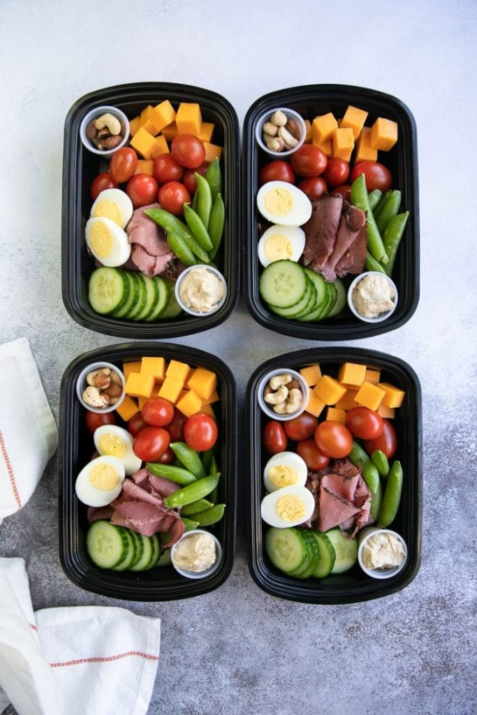 Meal Prep Protein Snack Pack