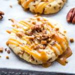 Caramel Butter Pecan Cookies