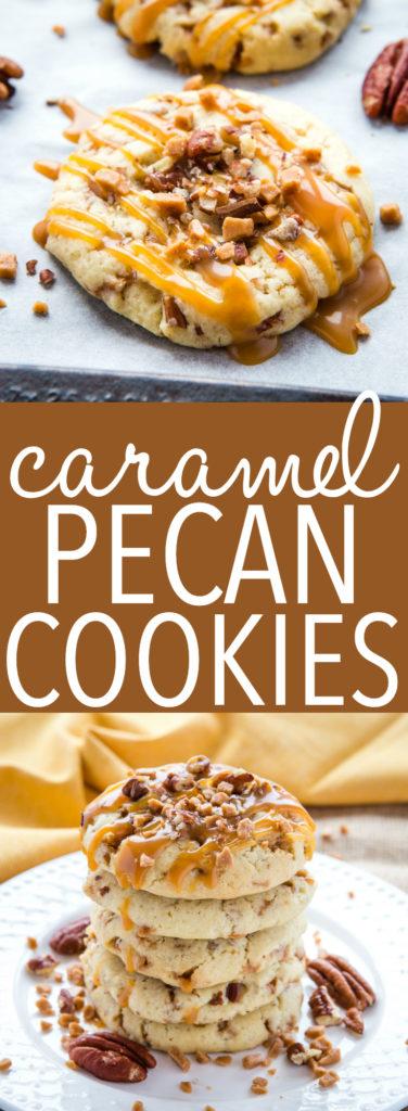 Caramel Butter Pecan Cookies Pinterest