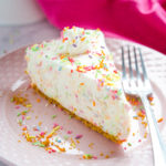 Easy No Bake Funfetti Cheesecake
