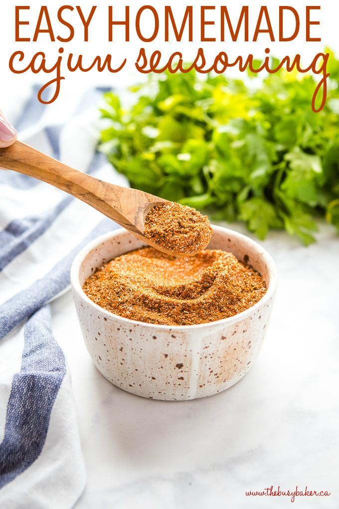 Easy Homemade Cajun Seasoning Blend