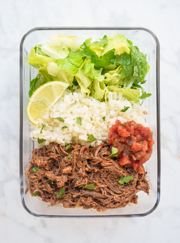 Meal Prep Chipotle Beef Bowls