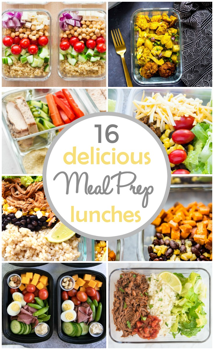 16 Delicious Meal Prep Lunch Recipes - These meal prep lunch recipes are perfect for kids and adults. Healthy and delicious, these make-ahead lunches will help you stay on top of your meal planning, especially during busy weeks! They're easy to prepare, healthy, and flavourful. via @busybakerblog