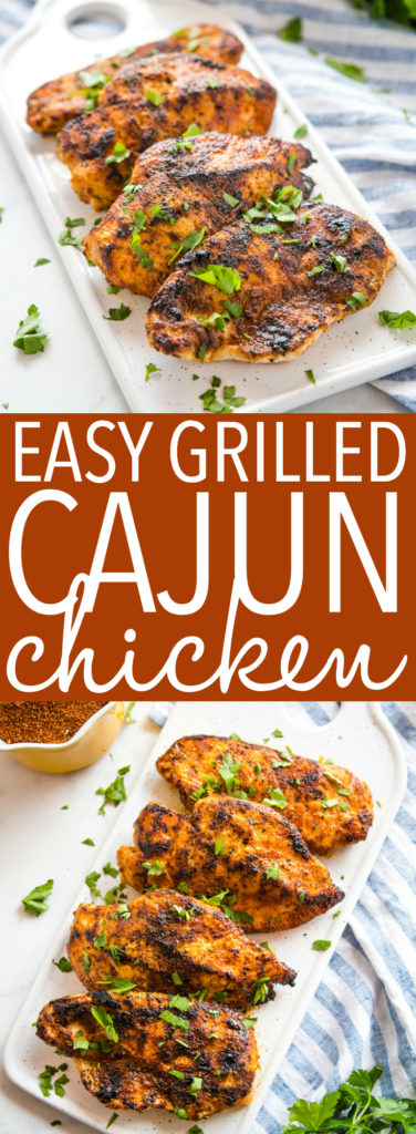 Easy Cajun Grilled Chicken Pinterest