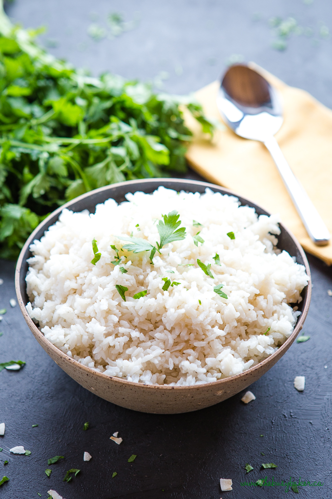 Easy Coconut Lime Rice
