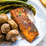 Easy One Pan Cajun Salmon
