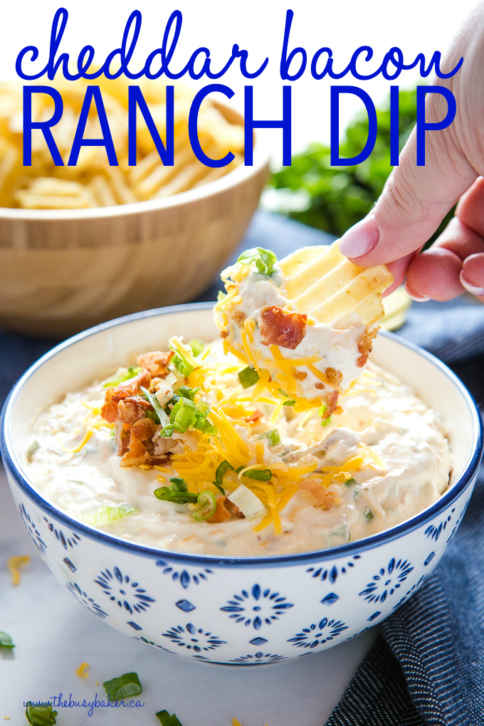 Cheddar Bacon Ranch Dip