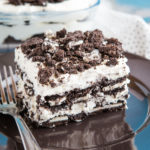 Easy No Bake Cookies and Cream Oreo Icebox Cake
