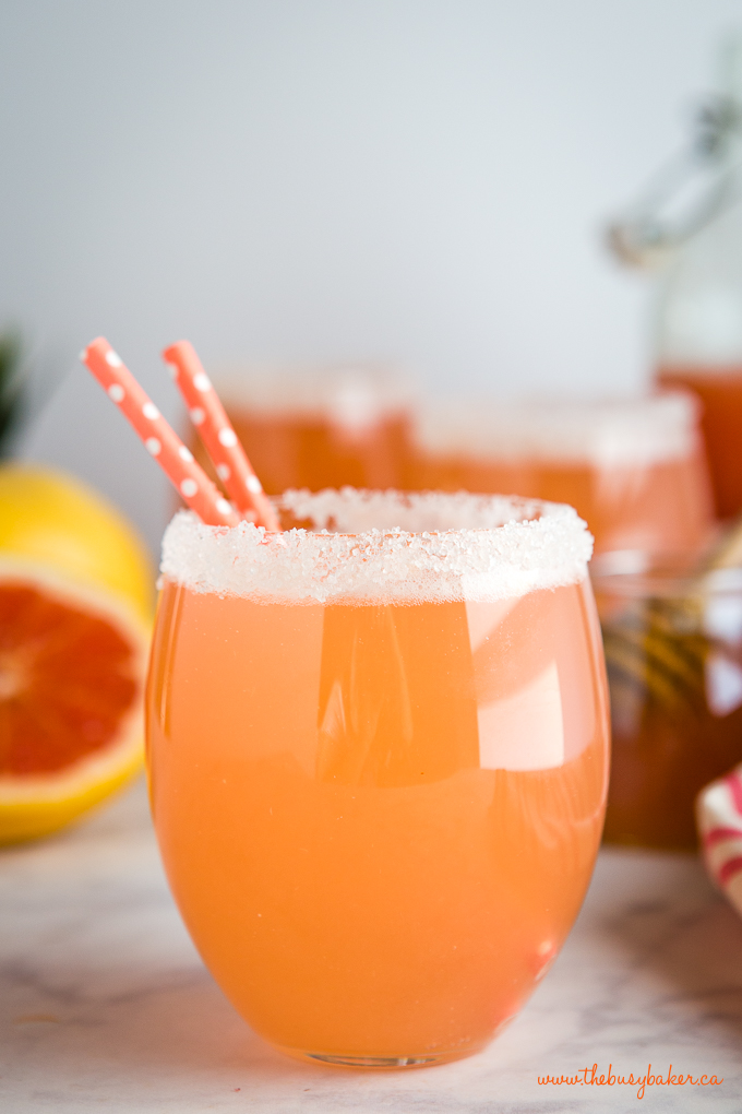 pink grapefruit soda healthy