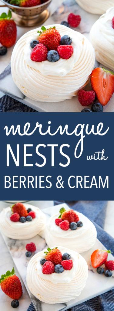 Meringue Nests Pinterest