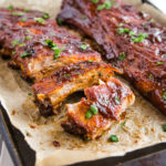 Honey Garlic Oven-Baked Barbecue Ribs