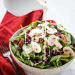 Spinach Salad with Creamy Vinaigrette