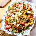 Easy Classic Italian Pasta Salad