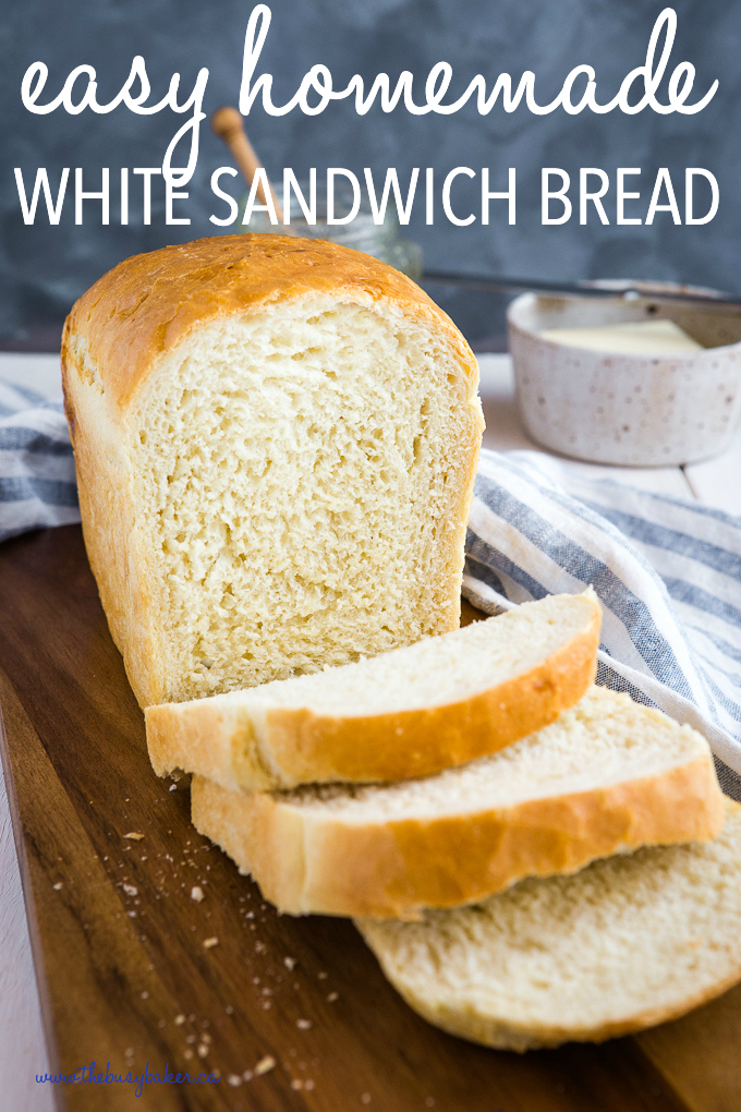 Easy Homemade White Sandwich Bread