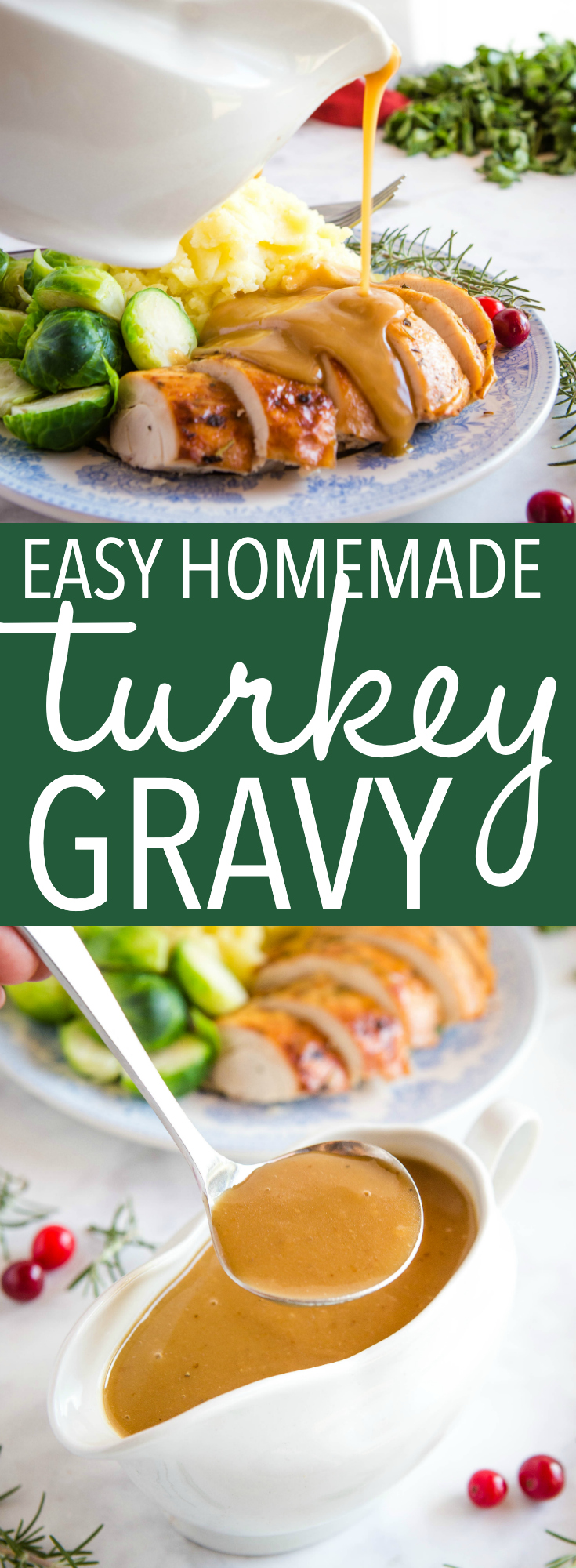 Easy Homemade Roast Turkey Gravy Pinterest