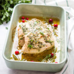 Easy Juicy Garlic and Herb Roast Turkey Breast