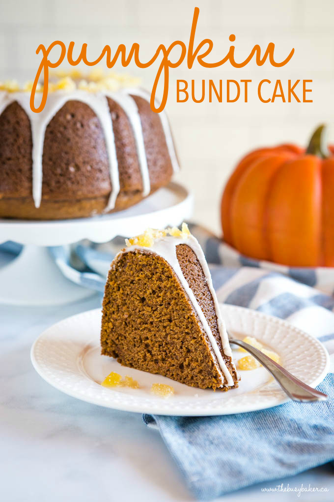 Easy Pumpkin Bundt Cake