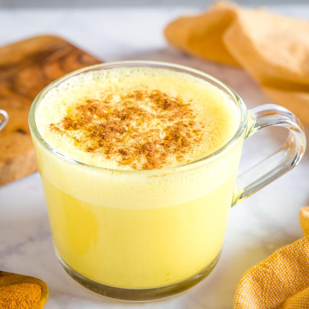 Easy Healthy Golden Milk Turmeric Latte