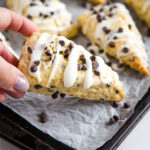 Best Ever Chocolate Chip Scones