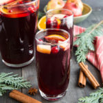 Holiday Apple Cranberry Sangria