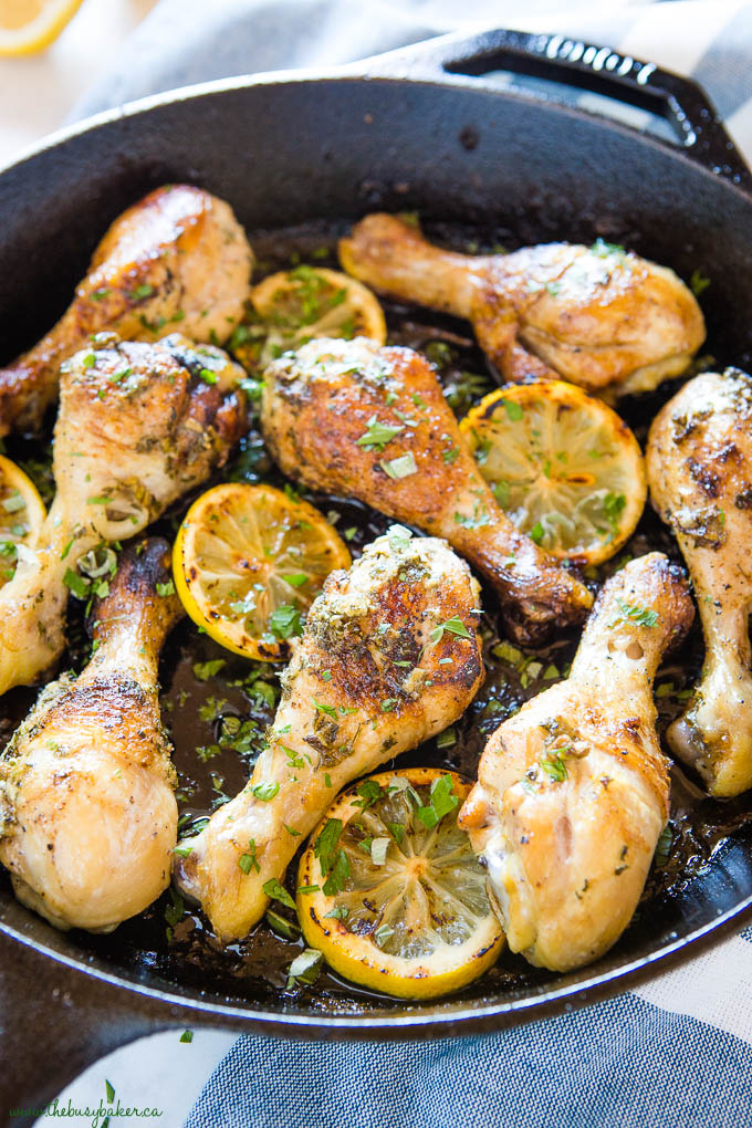 lemon herb chicken drumsticks