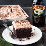 Best Ever Bailey's Irish Cream Chocolate Cake
